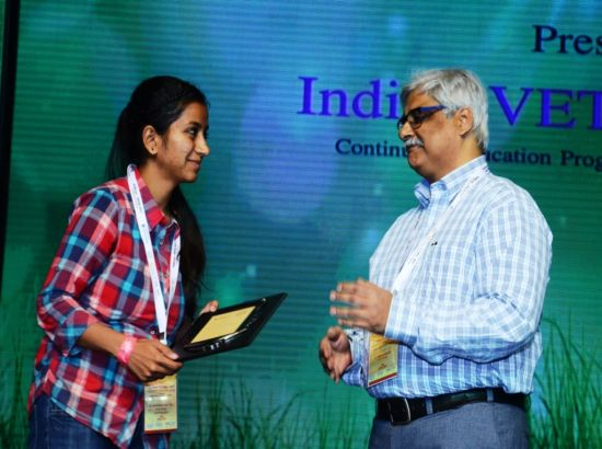 Young Scientist Award two GADVASU students ludhiana