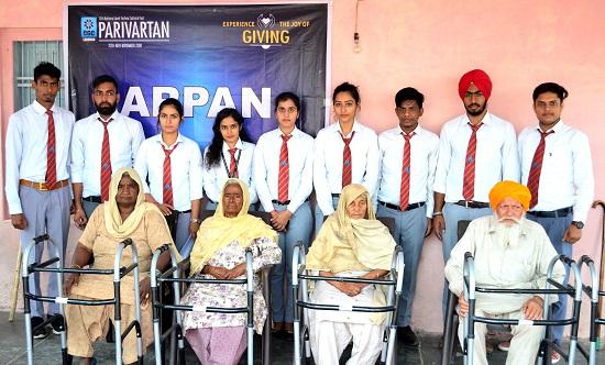 CGC Landran celebrates the joy of giving