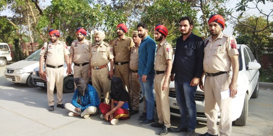 Vehicle lifters' gang busted in Ferozepur, kingpin arrested