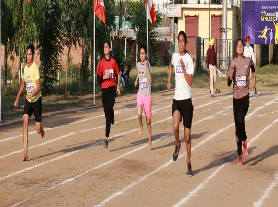 Pooja and Aanchal bags Best Women Athlete tag during 6th Annual Athletic Meet at Chandigarh University