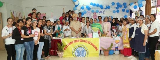 3rd Day of International Nurse's Week celebration at Mata Sahib Kaur College of Nursing
