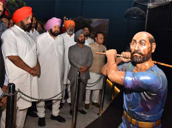 Amarinder dedicates 3rd phase of Jung-E-Azadi Memorial to Jallianwala Martyrs & Andaman Cellular Jail Freedom Fighters