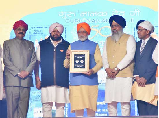 Capt. Amarinder Singh hopes corridor would lead to peaceful Environment between both countries leading to easy access to other Gurudwaras