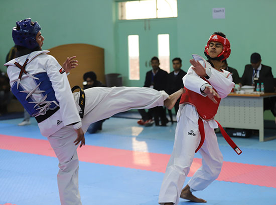 Chandigarh University bags one silver and one bronze medal in Qwan-ki-Do Championship