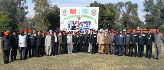 Vajra Corps conducts Tri-Services Veterans' event