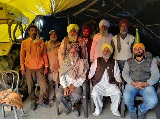 Elderly farmer spirit in Farmer agitation