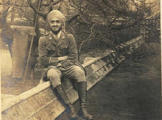 Sardar Hardit Singh Malik was the first Indian to join the Royal Flying Corps