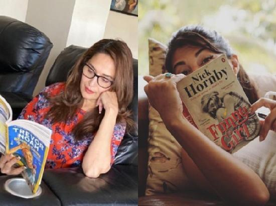 Bollywood actors reading favourite books during lockdown
