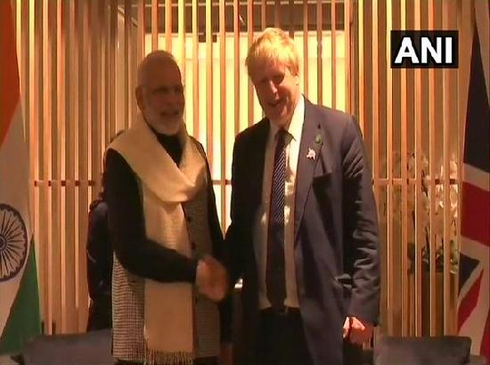 Modi wishes hospitalised British PM Johnson early recovery