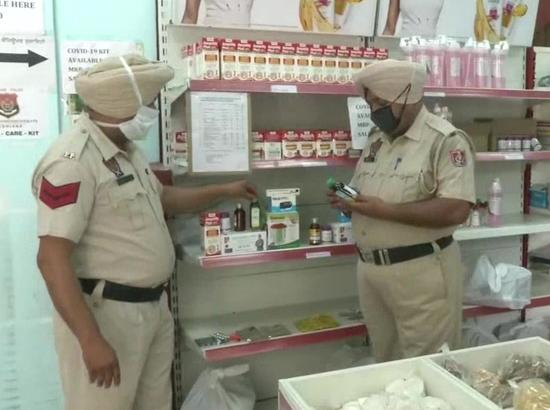 Punjab Police selling 'corona care kit' in Ludhiana