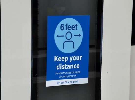Six feet may not be far enough for safe social distancing: Study