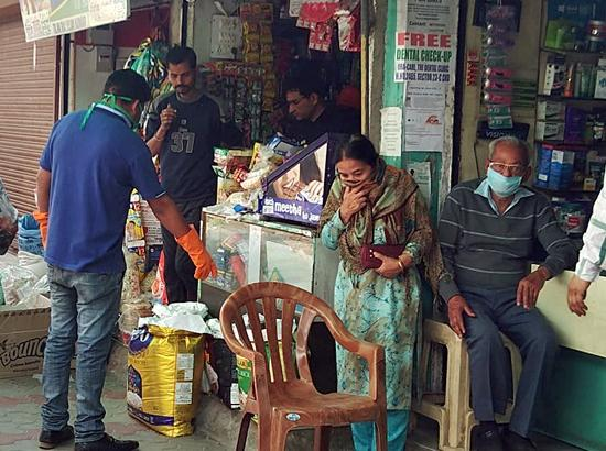 Purchasing essential items from shops banned in Chandigarh