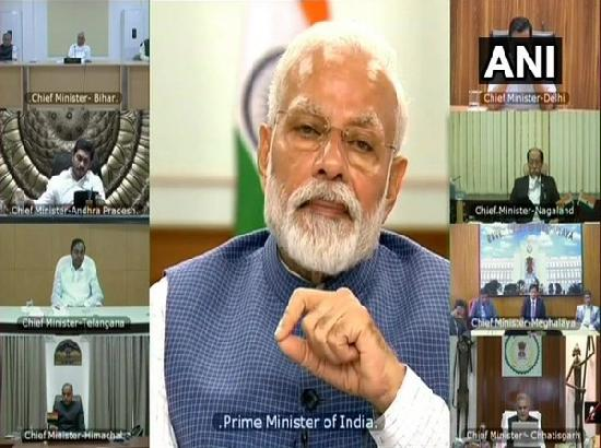 Modi asks CMs to focus on testing, tracing, isolation, quarantine for next few weeks