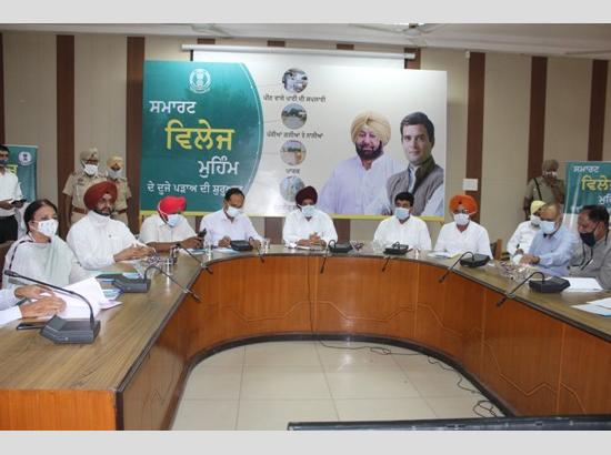 Tript Rajinder Bajwa launches second phase of Smart Village Campaign in Ludhiana