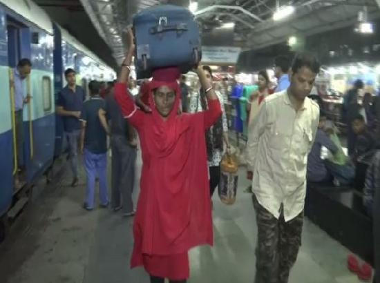 At Bhopal's railway station meet Lakshmi, the woman coolie