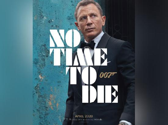 'No Time To Die' first poster: Daniel Craig looks dapper as 007