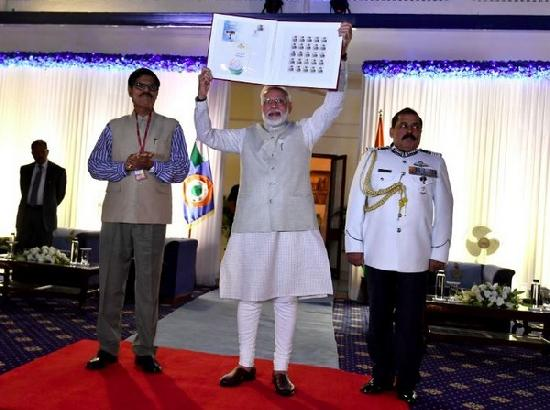 PM Modi launches commemorative stamp to honour Marshal of IAF Arjan Singh