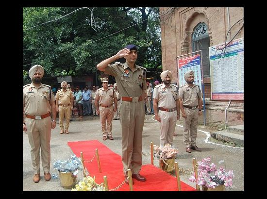 Satinder Singh joins as SSP of Kapurthala