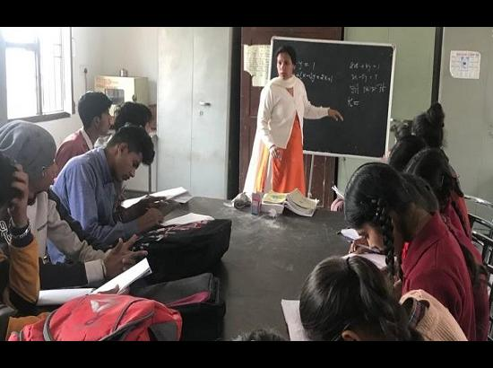 Govt. School Teachers using social media to ensure better results in Board exams
