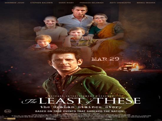 Movie 'The Least of These: The Graham Staines Story' to hit screens on Mar 29