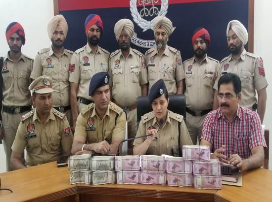 Patiala Police recover Rs 1 crore from a car