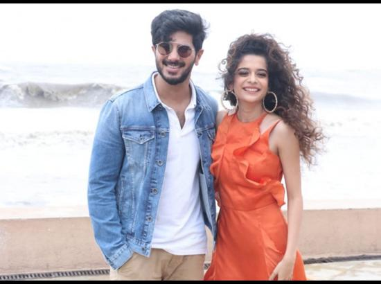 Actors Dulquer Salmaan and Mithila Palkar - P