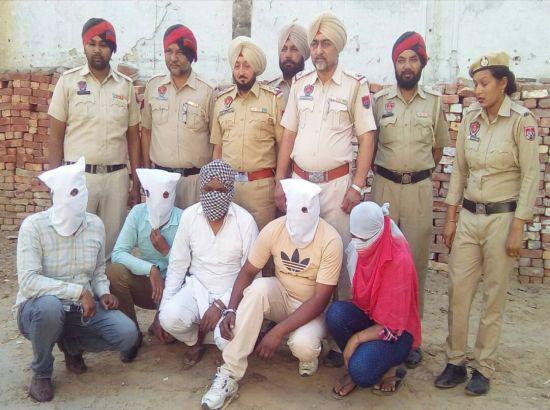 IRB Sub-Inspector, ex-Punjab Police official in blackmailers' gang busted in Jagraon