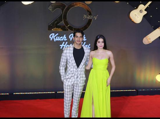 Ishaan Khatter and Janhvi Kapoor - 20th anniv