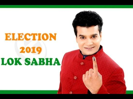 Actor Rajan Kumar 'Charlie' becomes Election Commission of India- 2019 Icon