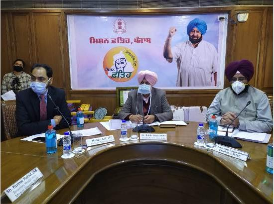 Balbir Sidhu instructs Civil Surgeons to include more sites & beneficiaries to accelerate corona vaccination drive