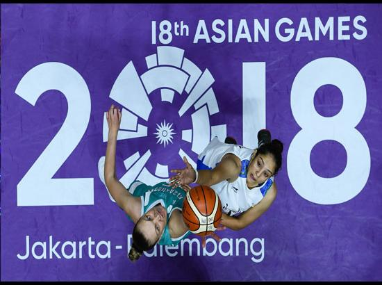 INDONESIA-JAKARTA-ASIAN GAMES-WOMEN'S BASKETBALL-INDIA VS KAZAKHSTAN