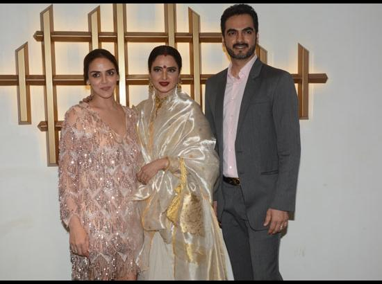 Esha Deol along with her husband Bharat Takh
