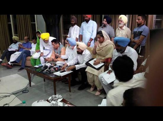 Punjab budget a joke with people especially farmers: AAP