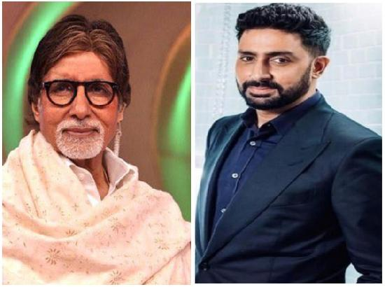 Amitabh, son Abhishek hospitalised with COVID-19