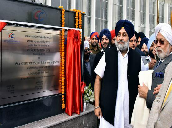 Sukhbir Badal inaugurates nation's first AC busopolis