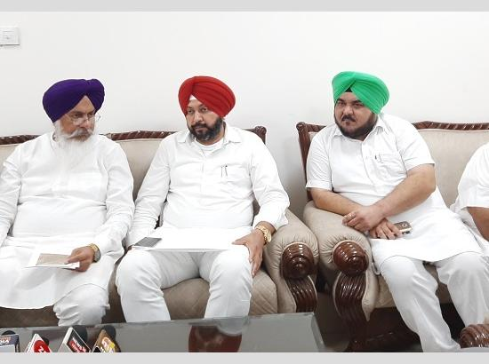SGPC gives Rs. 11 crore tender to a nondeserving company on Sukhbir's behalf -MLAs