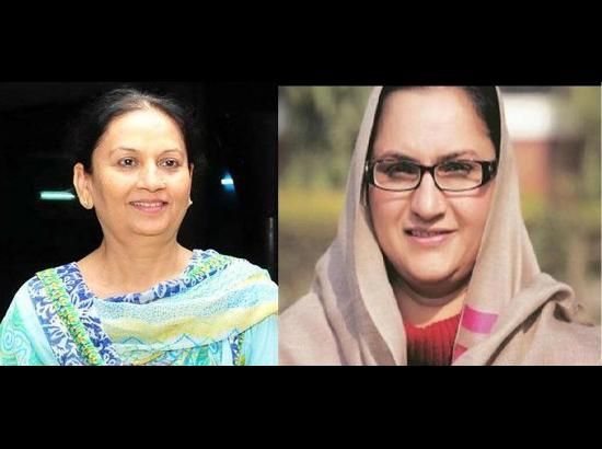 Cabinet minister status for Aruna Chaudhary and Razia Sultana