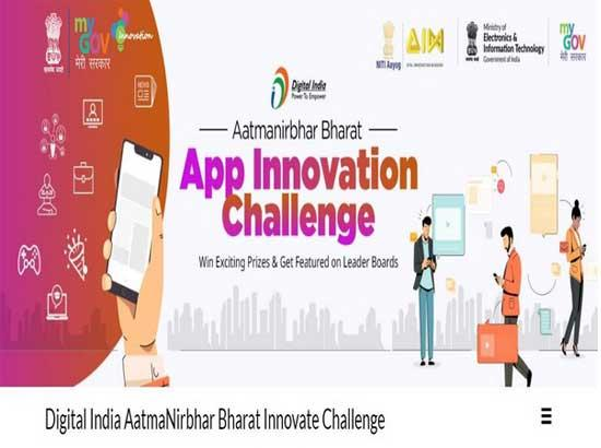 PM Modi launches 'Aatmanirbhar Bharat App Innovation Challenge' for techies, start-up comm