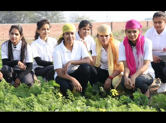 Agriculture students of Aryans celebrates National Farmer's Day