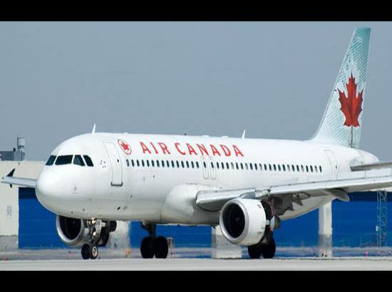 Air Canada temporarily suspends flights to India