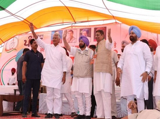 Shameful & Wishful Thinking, Says Capt. Amarinder on Badal's statement that people had for