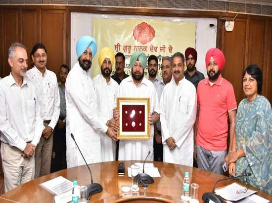 Amarinder Govt to seek SGPC support for 550th Prakash Purb Celebrations of Sri Guru Nanak Dev Ji