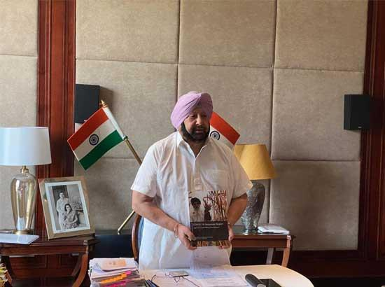 Amarinder releases report on documentation of Agricultural Procurement during COVID-19