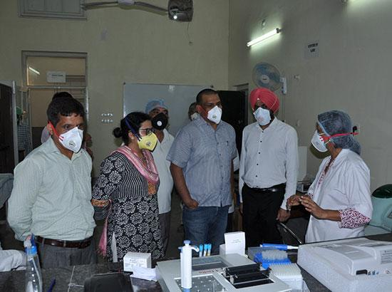 Amit Kumar Reviews  COVID Situation And Treatment Facilities at Rajindra Hospital