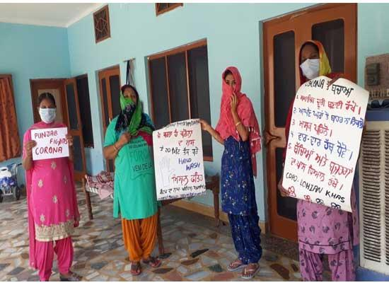 Hundreds of Anganwadi Workers take part in massive sensitization campaign