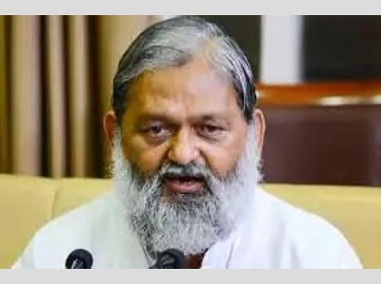 Anil Vij inaugurated the Online Admission Process