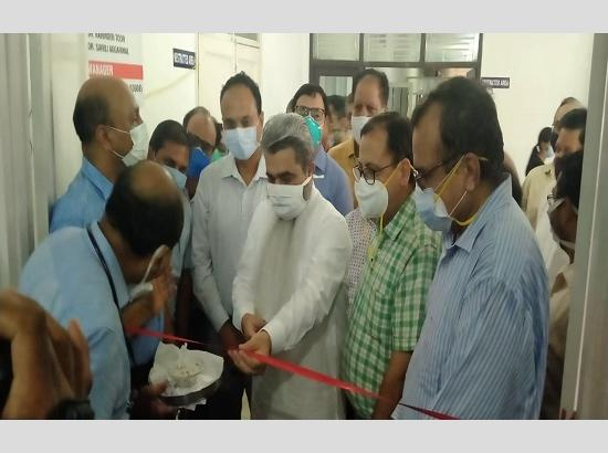 IMA Ludhiana doctors start 25-Bedded COVID Care Center at Homeopathic Medical College & Ho