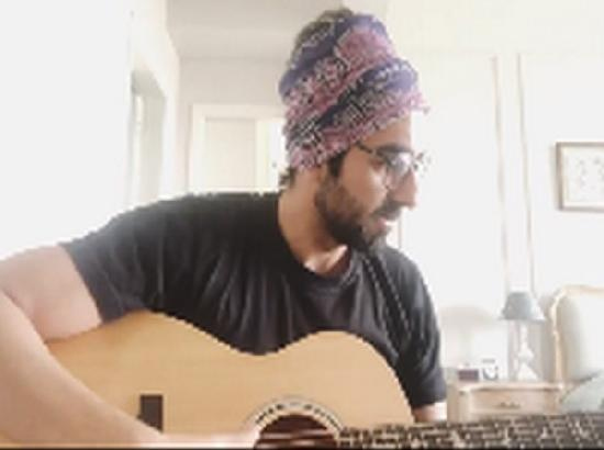 Ayushmann Khurrana sings 'Happy Birthday' for a fan on Instagram