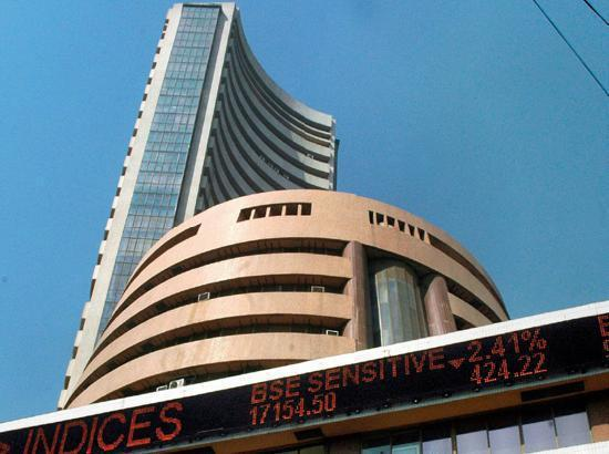Sensex ends 536 points lower, Nifty below 11,000-mark
