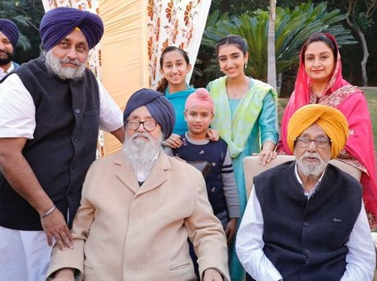 You are not only my hero but also source of inspiration, says Sukhbir Badal to his father on his birthday